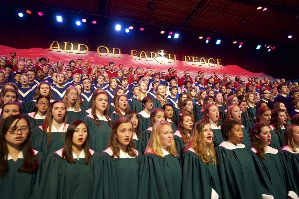 Massed Choirs of St. Olaf College